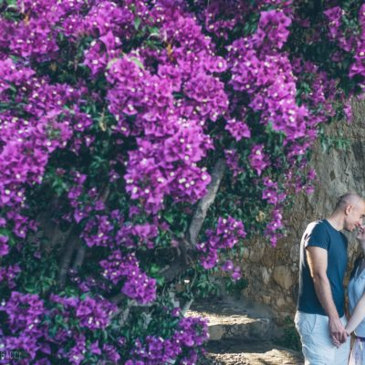 engagement photography in Saint Paul de Vence
