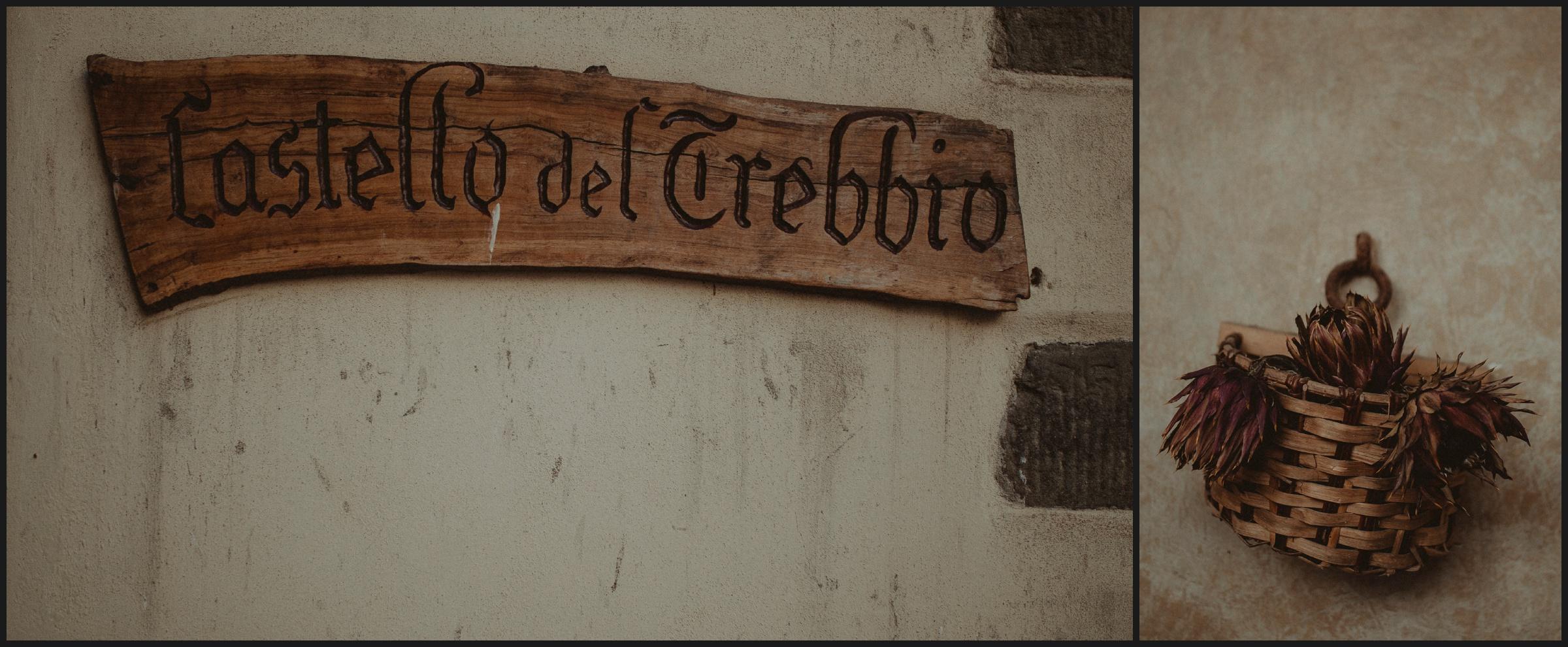 Castello del Trebbio details