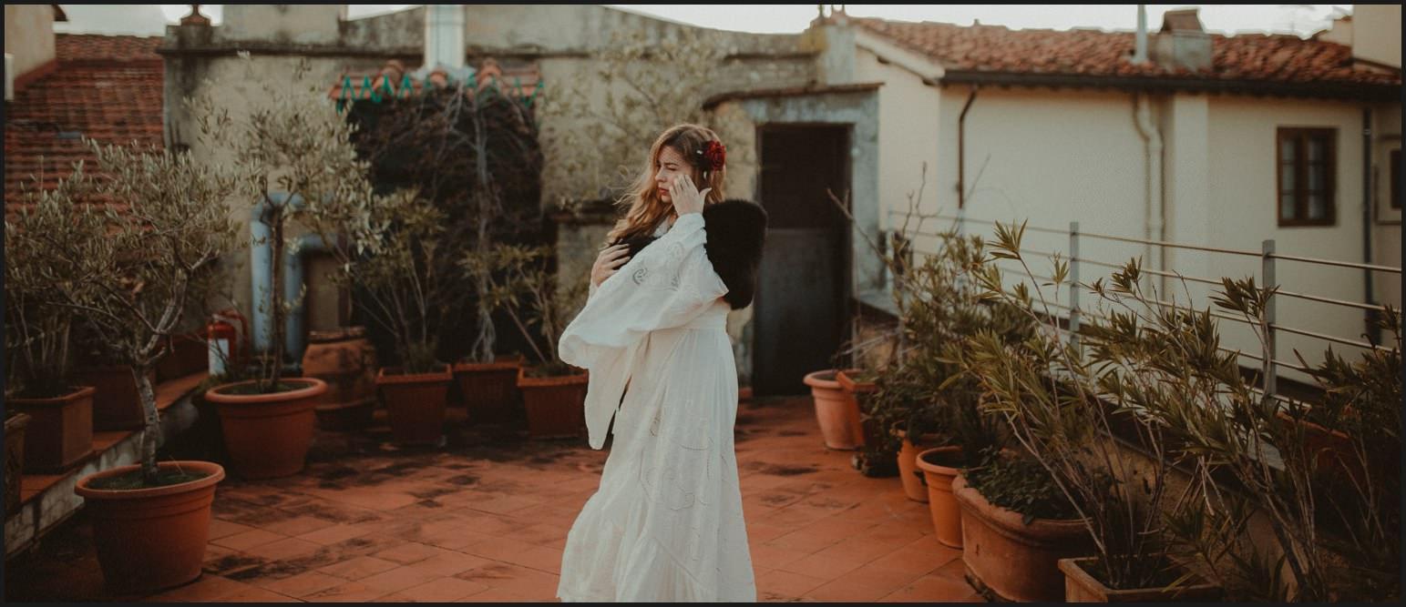 bride, wedding dress, wind