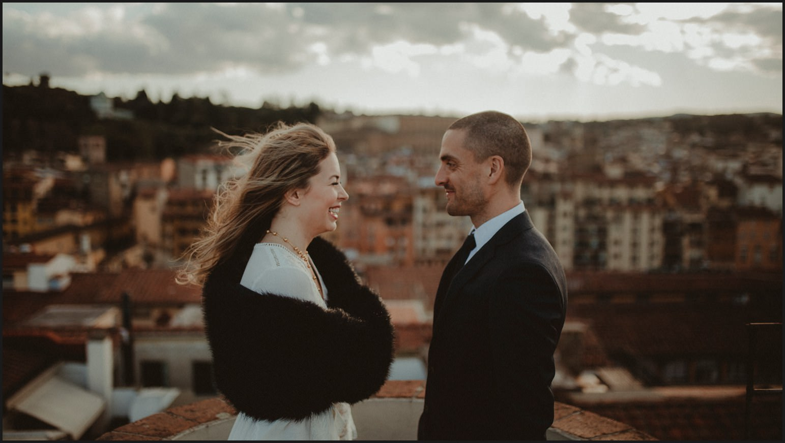 bride, groom, elopement, symbolic ceremony, hotel torre guelfa