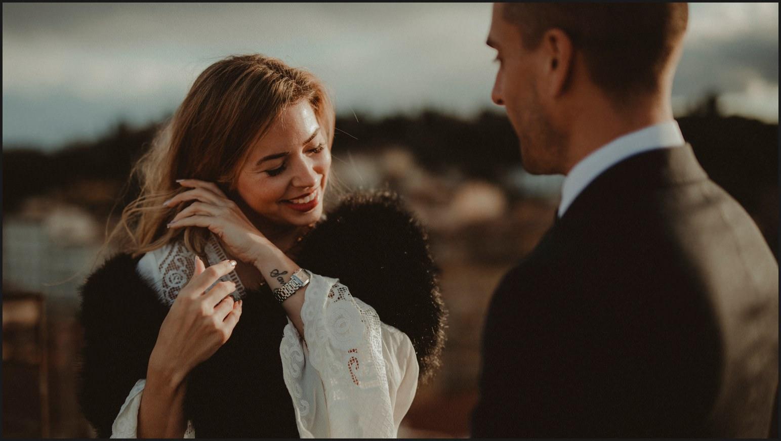 bride, smile, groom, elopement