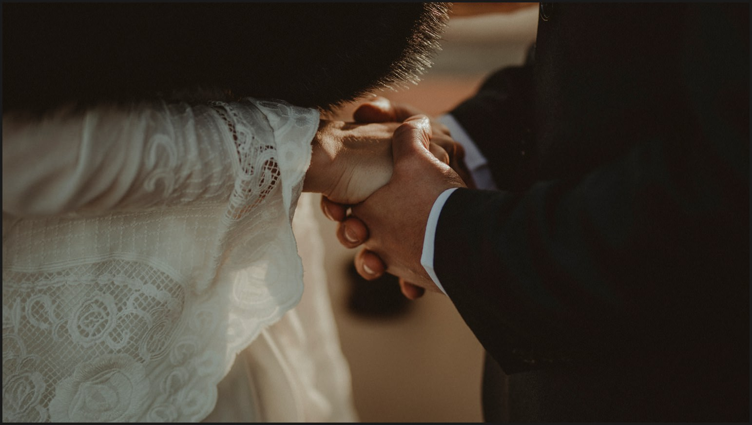 details, hands, bride, groom, elopement