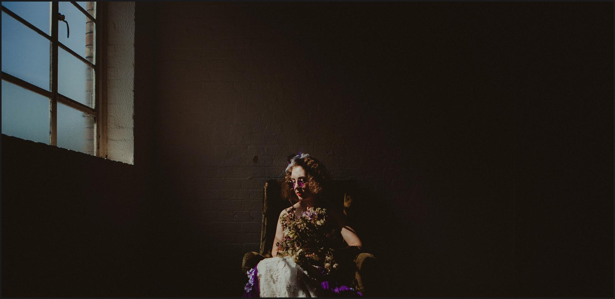 bride, portrait, light, dark, steampunk
