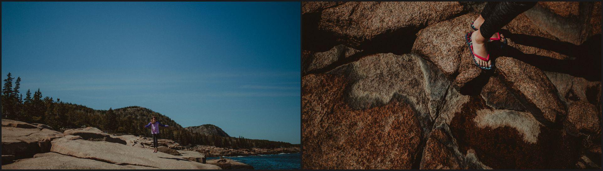 landscape, maine, acadia national park, beach, ocean, cliffs