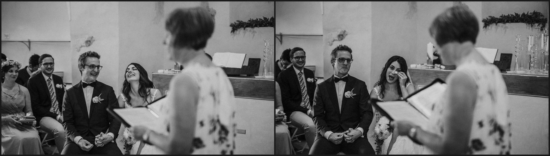 black and white, wedding, umbria,nikis resort, bride, groom, cry