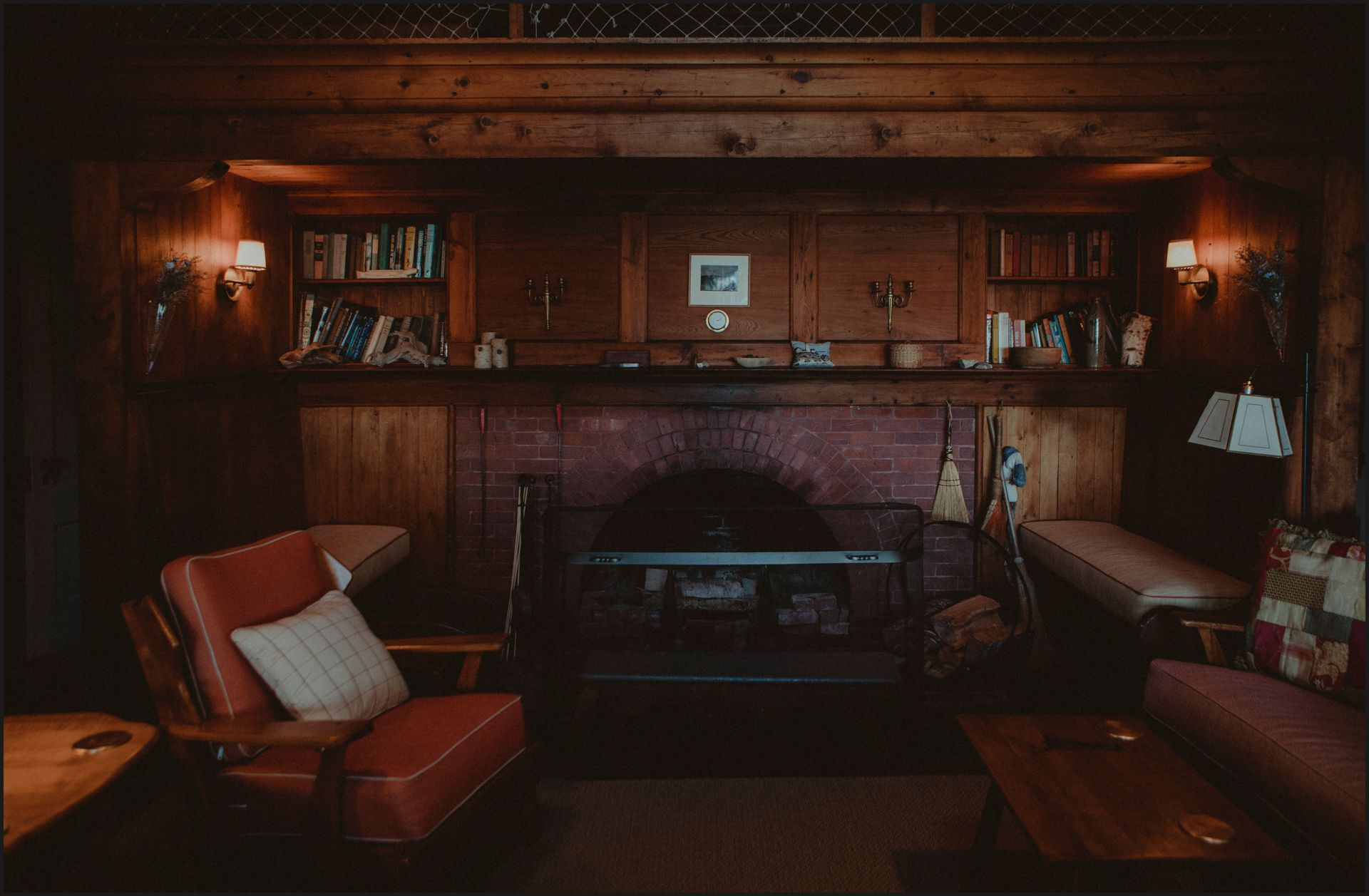 cottage, maine, acadia national park, southwest harbor, bar harbour, living room