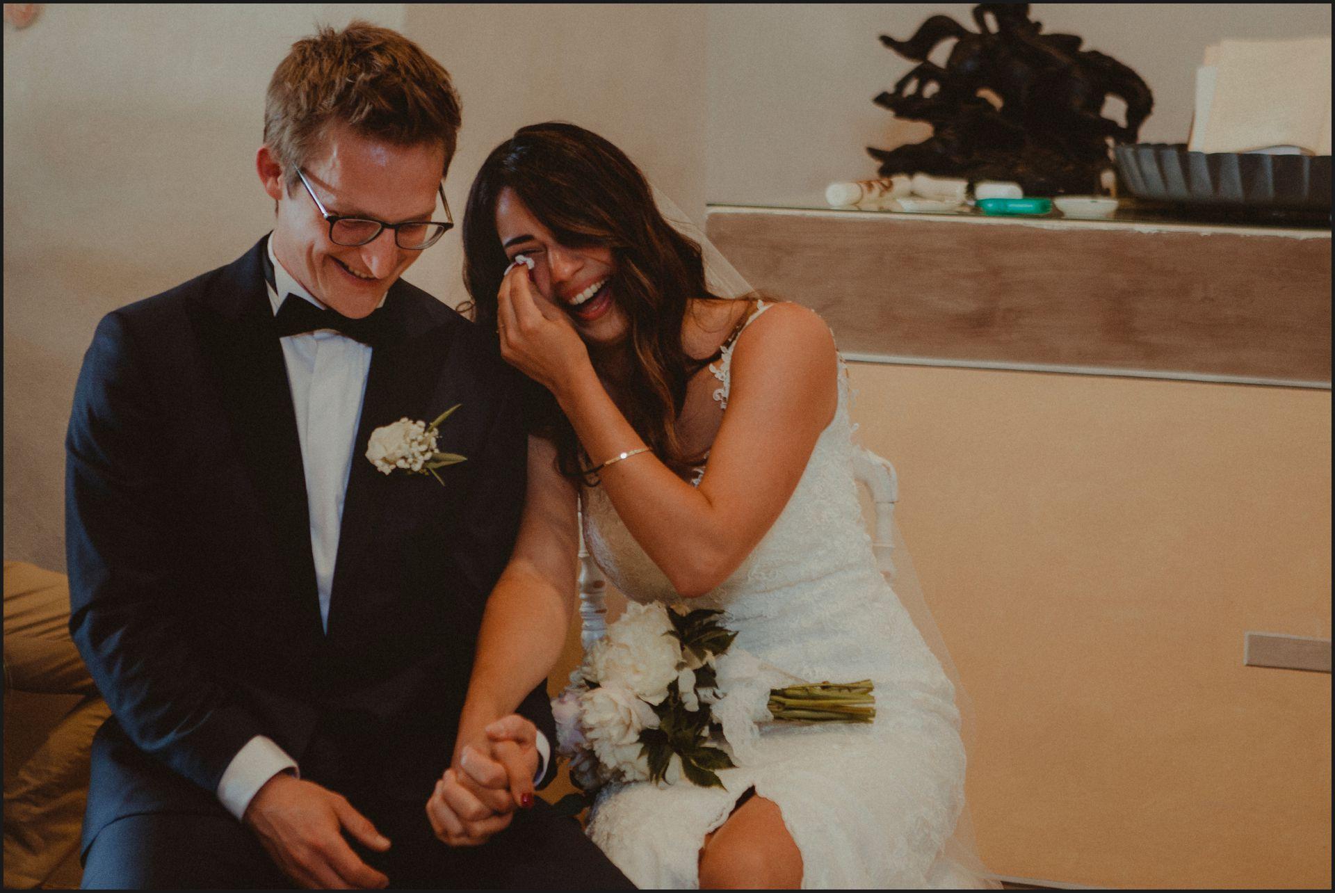 wedding, symbolic ceremony, wedding, umbria, nikis resort, bride, groom, cry, smile