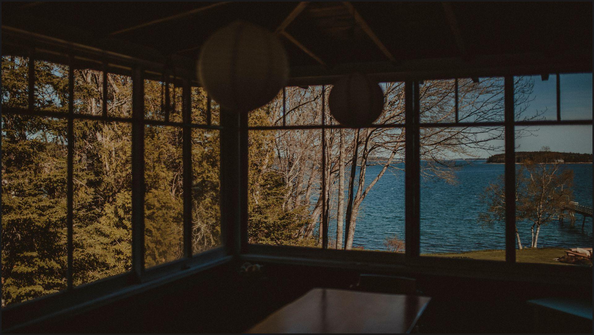 wedding venue, ocean view, cottage, acadia national park, southwest harbor
