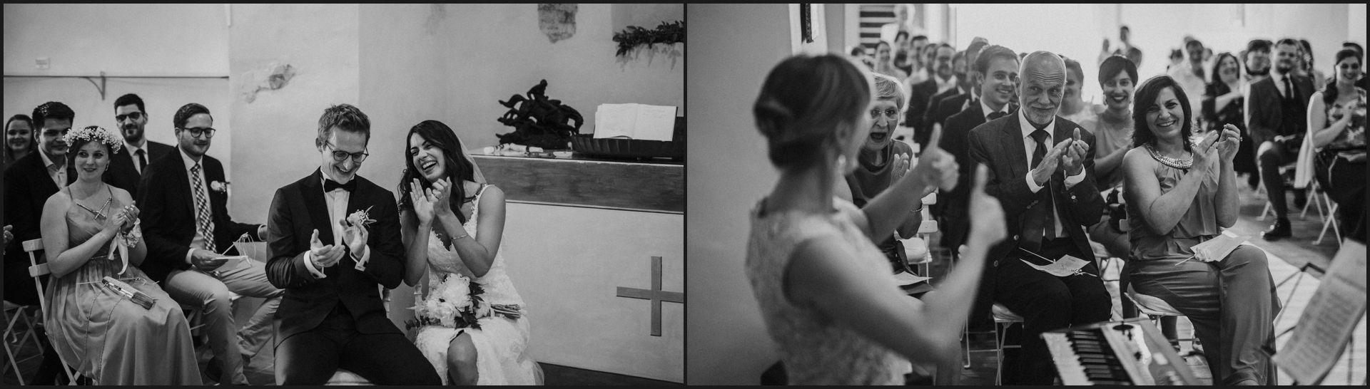 wedding, symbolic ceremony, wedding, umbria, nikis resort, black and white, funny,