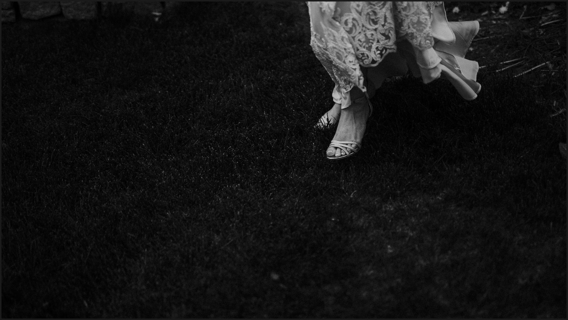 black and white, wedding dress, wedding details, feet, shoes, bride, bridal shoes
