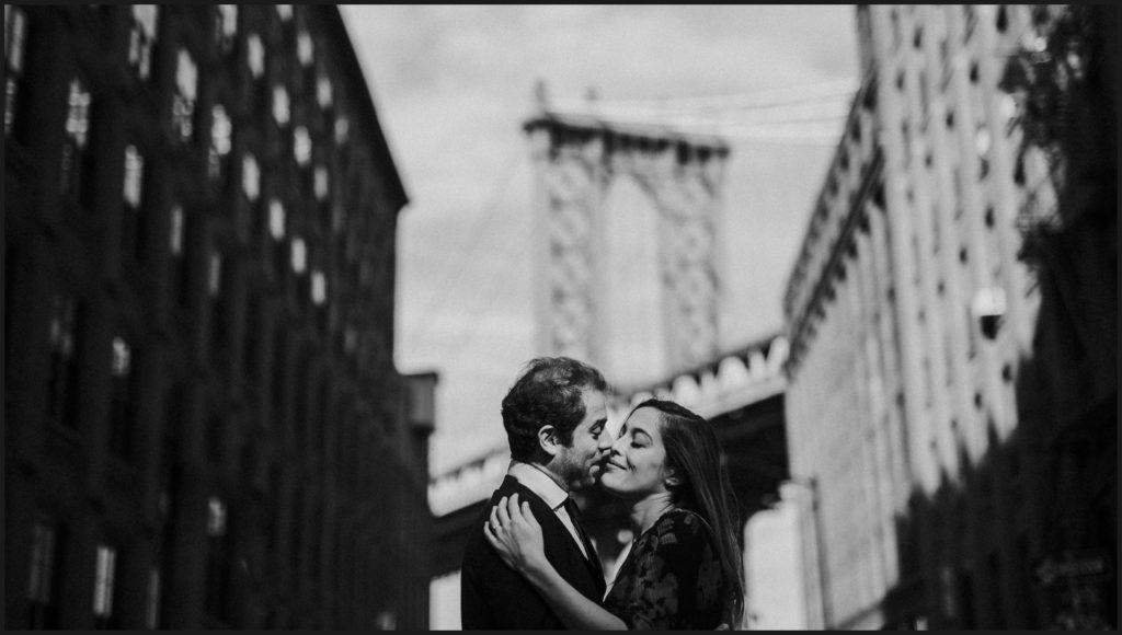 intimate portrait in New York