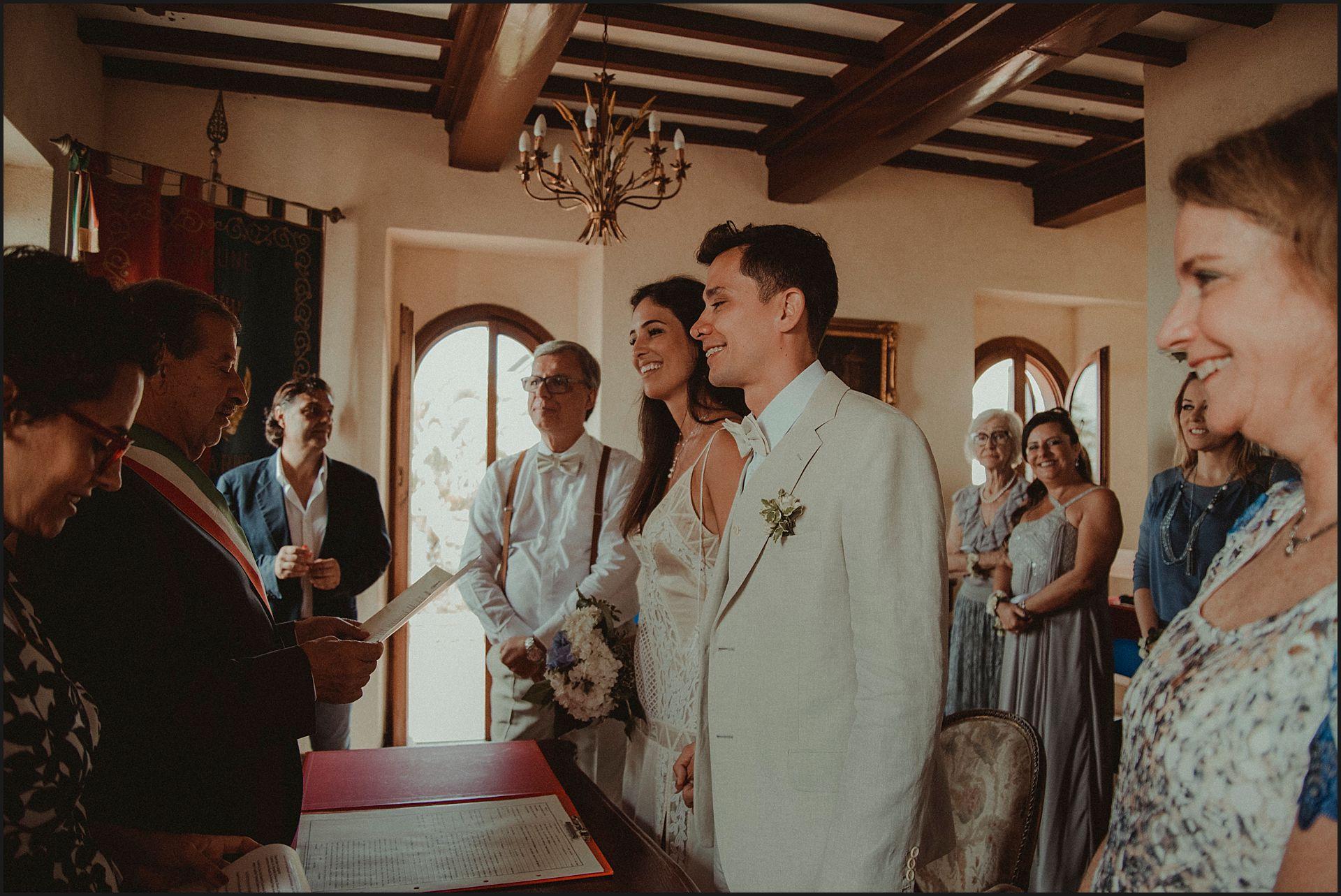 bride, groom, civil wedding, destination wedding, civitavecchia, ceremony
