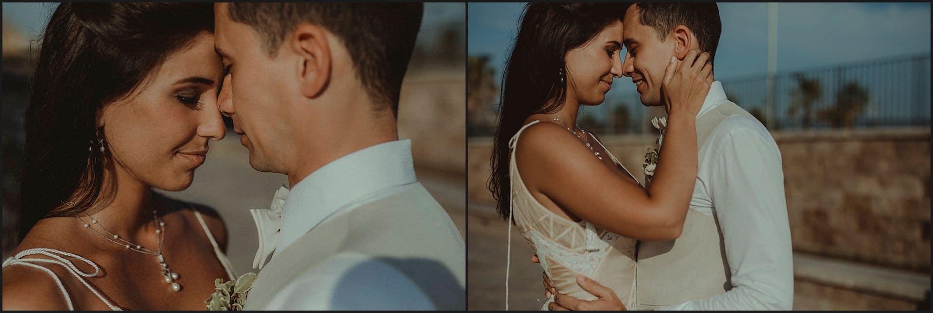 intimate portraits, bride, groom, italy