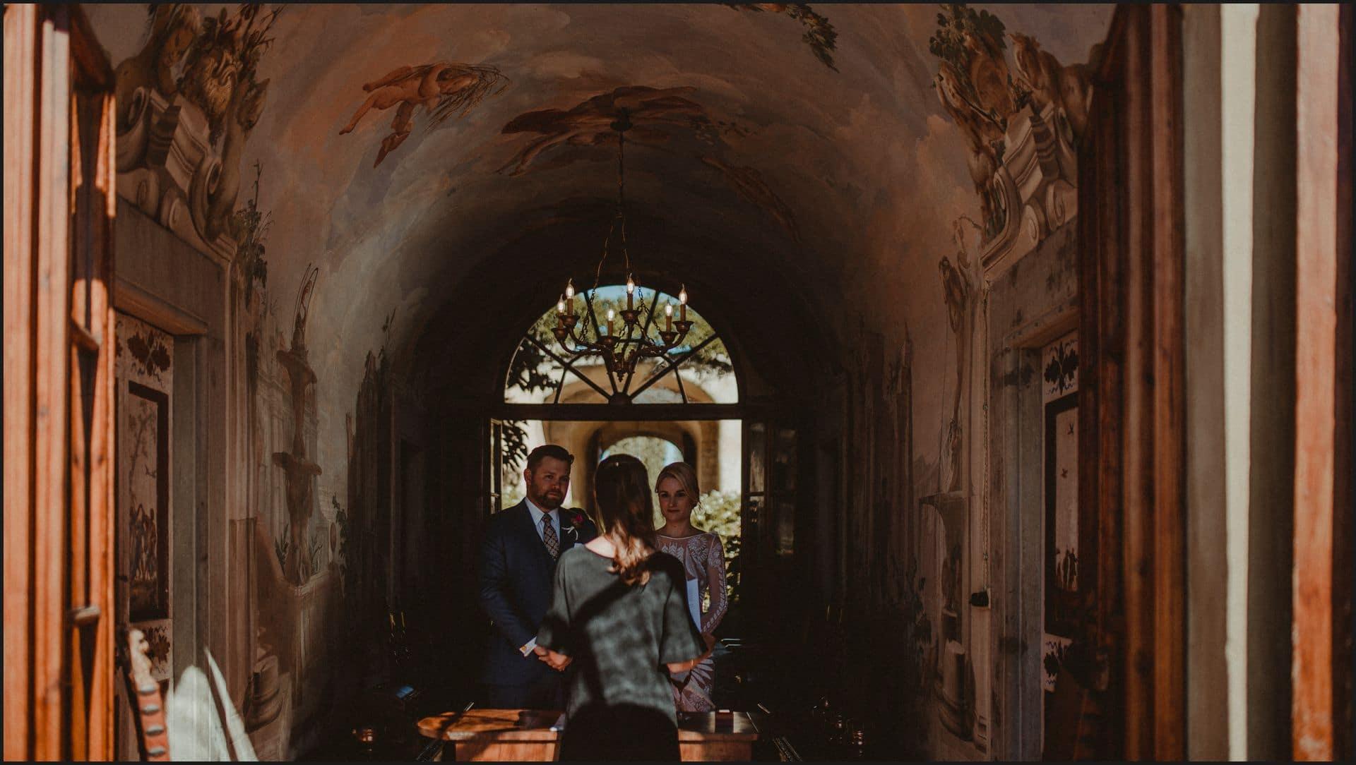 wedding, tuscany, villa medicea di lilliano, bride, groom, ceremony, elopement