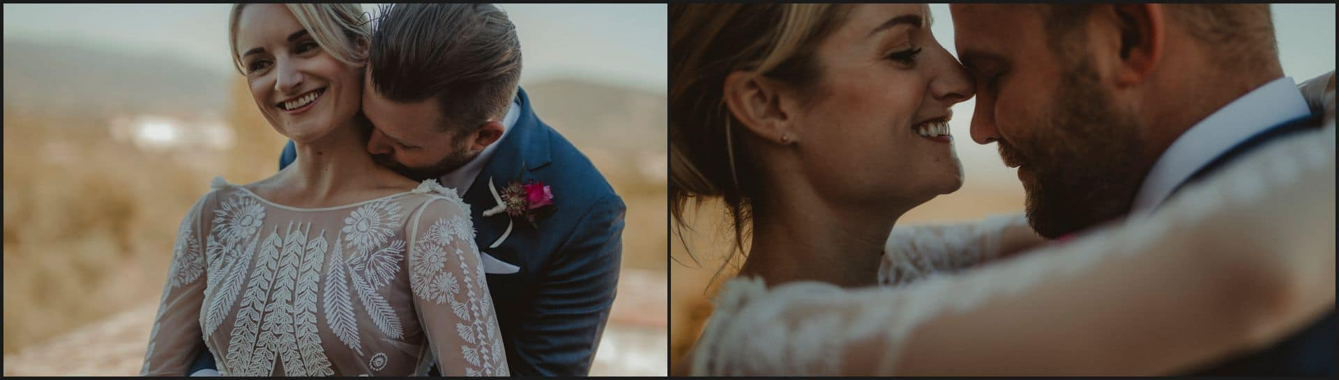 wedding, tuscany, villa medicea di lilliano, elopement wedding, romantic, intimate portrait