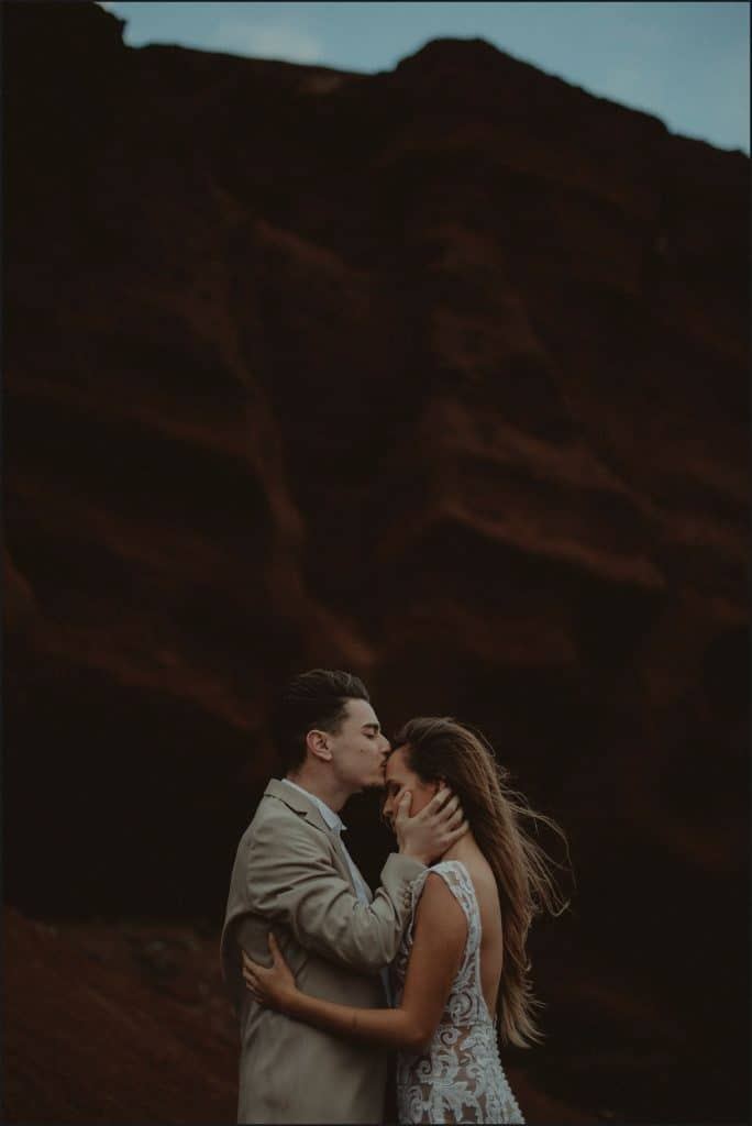 lanzarote, wedding, elopement, bride, groom, vulcan, adventure wedding