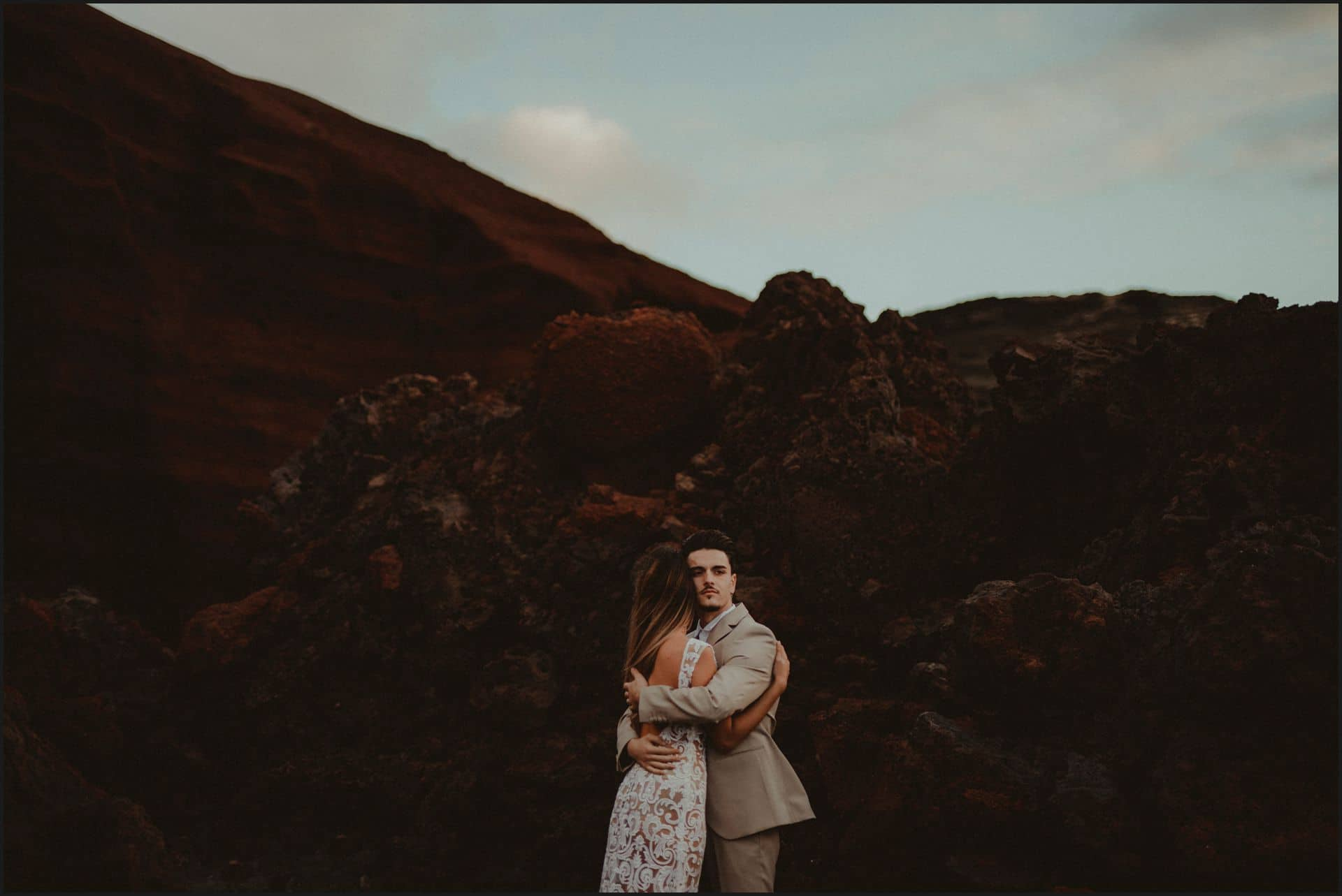 lanzarote, wedding, elopement, bride, groom, adventure wedding, romantic, intimate
