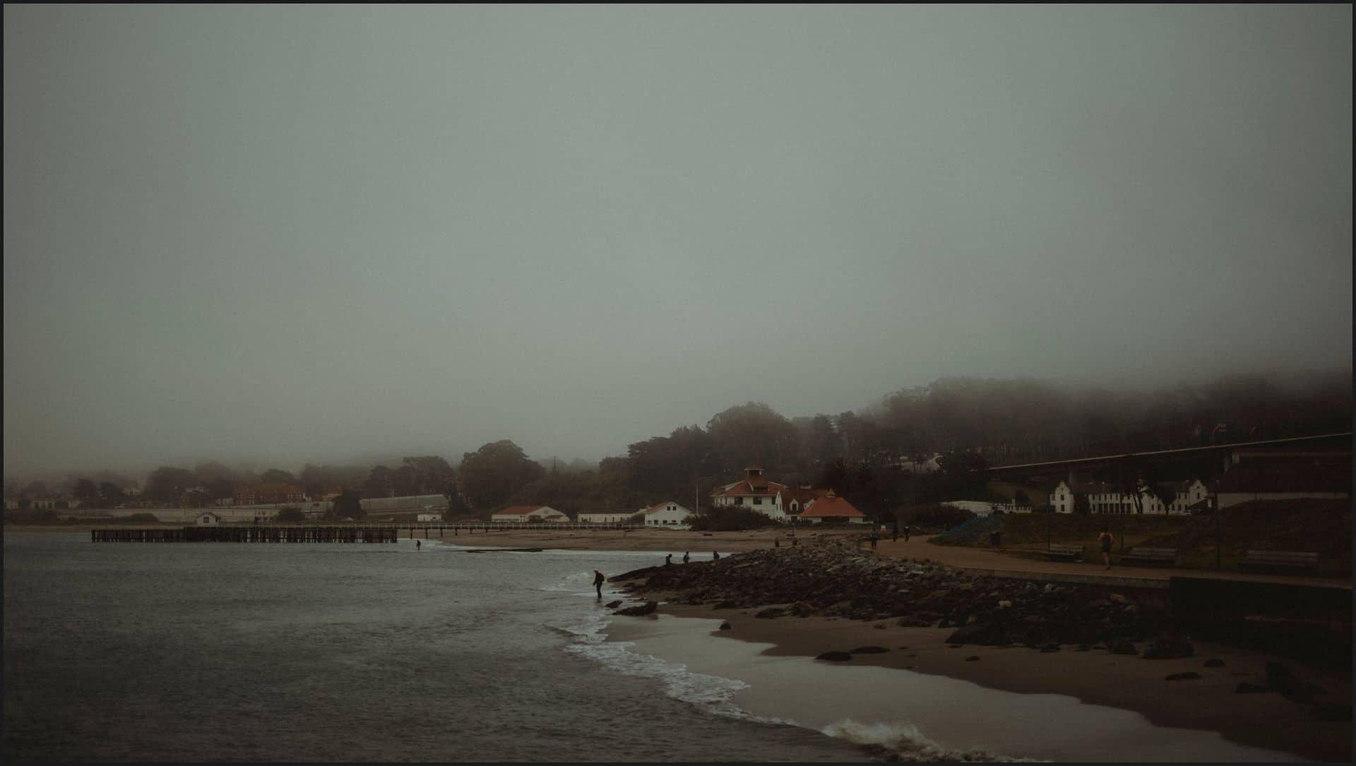 san francisco, california, elopement wedding, beach, ocean