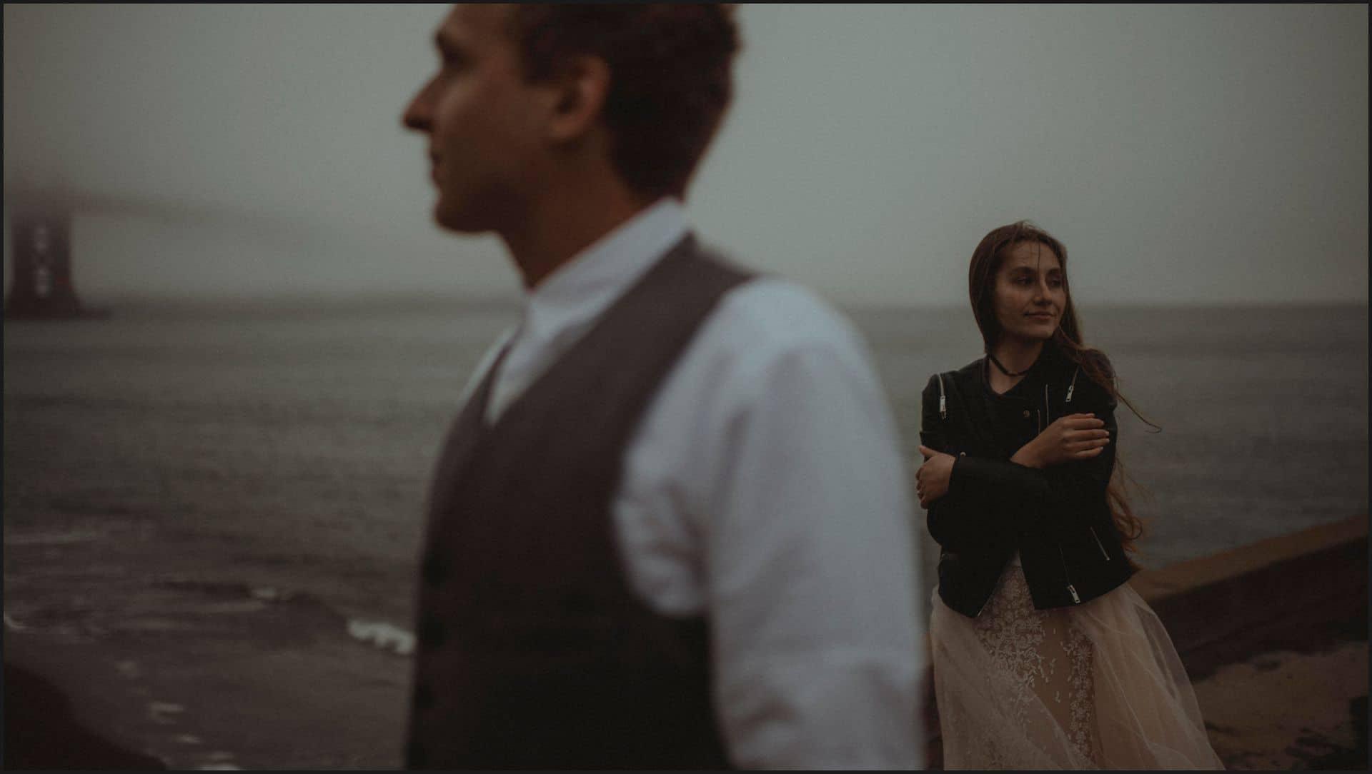 san francisco, california, elopement wedding,
