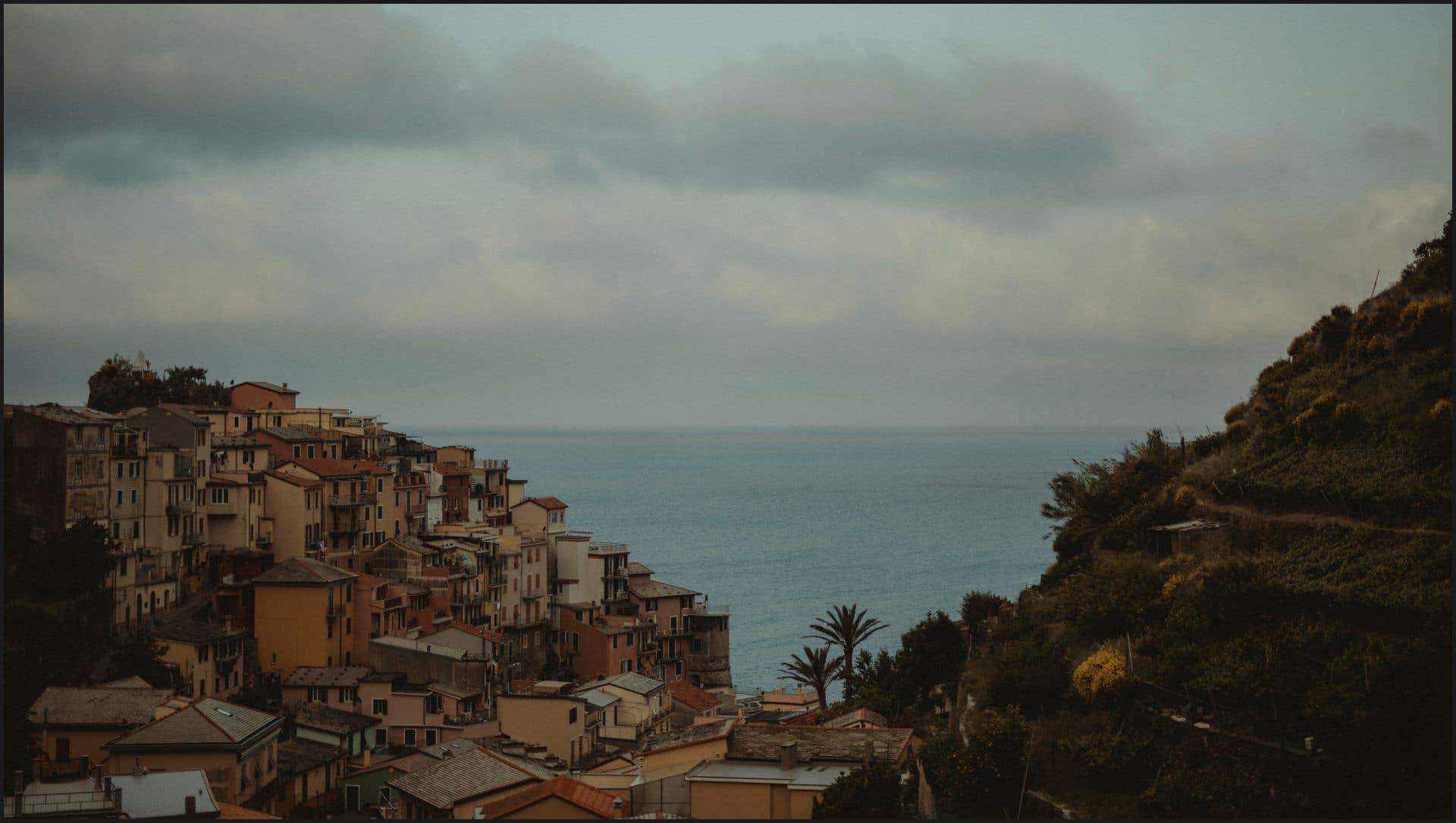manarola, cinque terre, sea, panorama