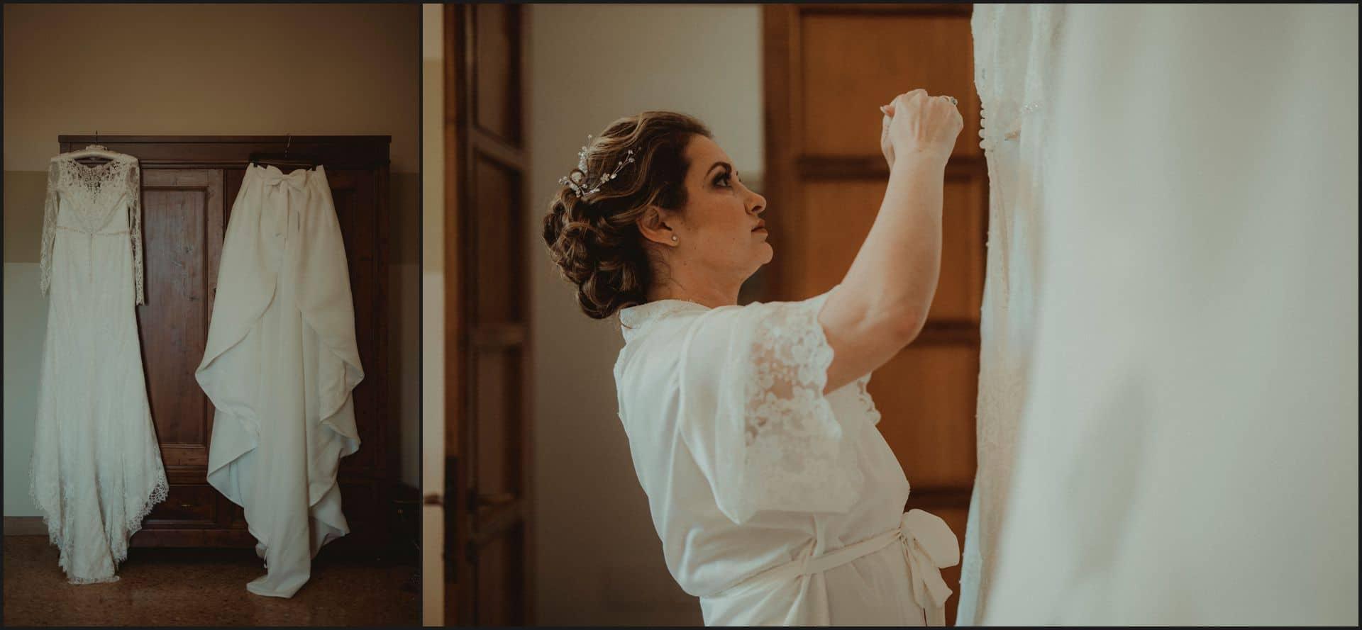 tuscany, destination wedding, chianti, bride, dress