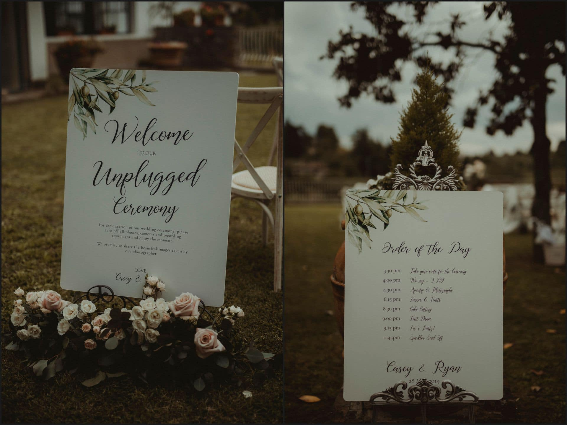 tuscany, destination wedding, chianti, flowers, details, unplugged ceremony