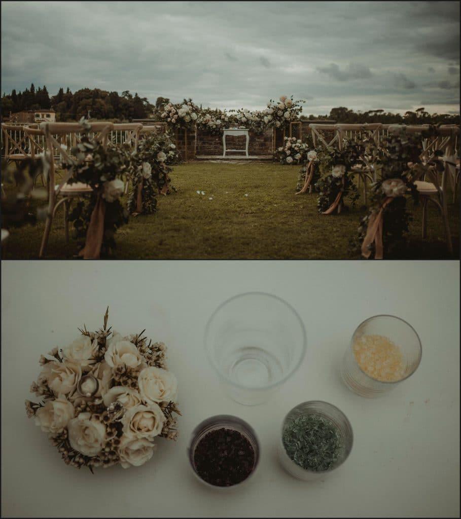 tuscany, destination wedding, chianti, wedding ceremony