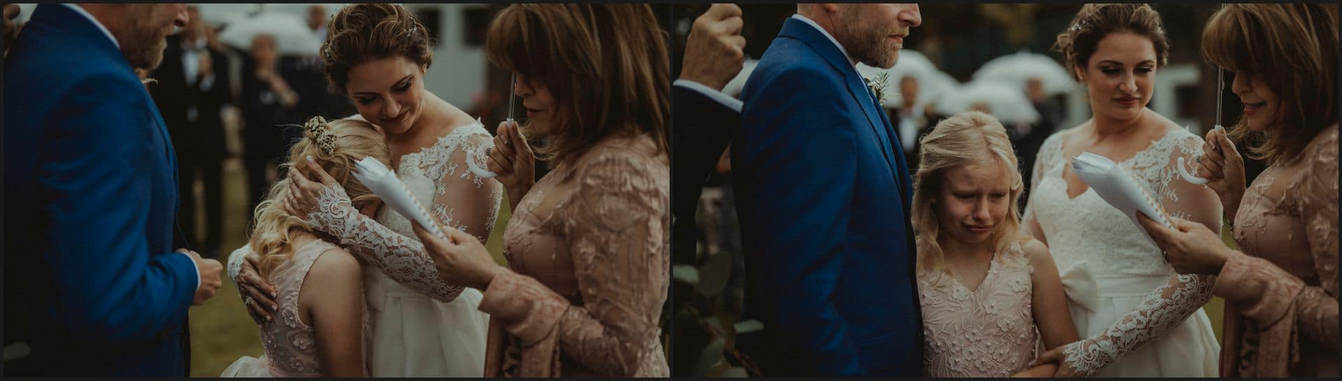 tuscany, destination wedding, chianti, wedding ceremony, bride, groom, daughter