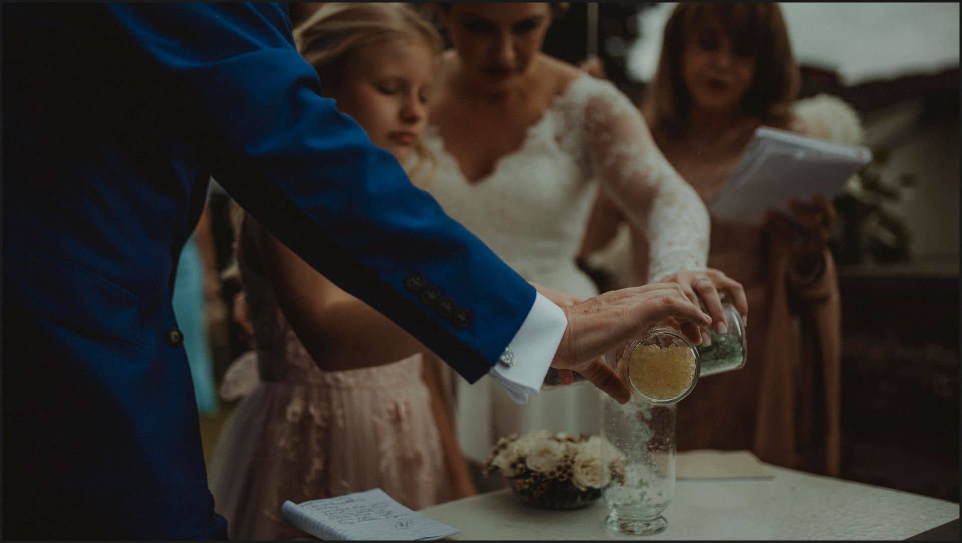 tuscany, destination wedding, chianti, wedding ceremony, bride, groom, symbolic