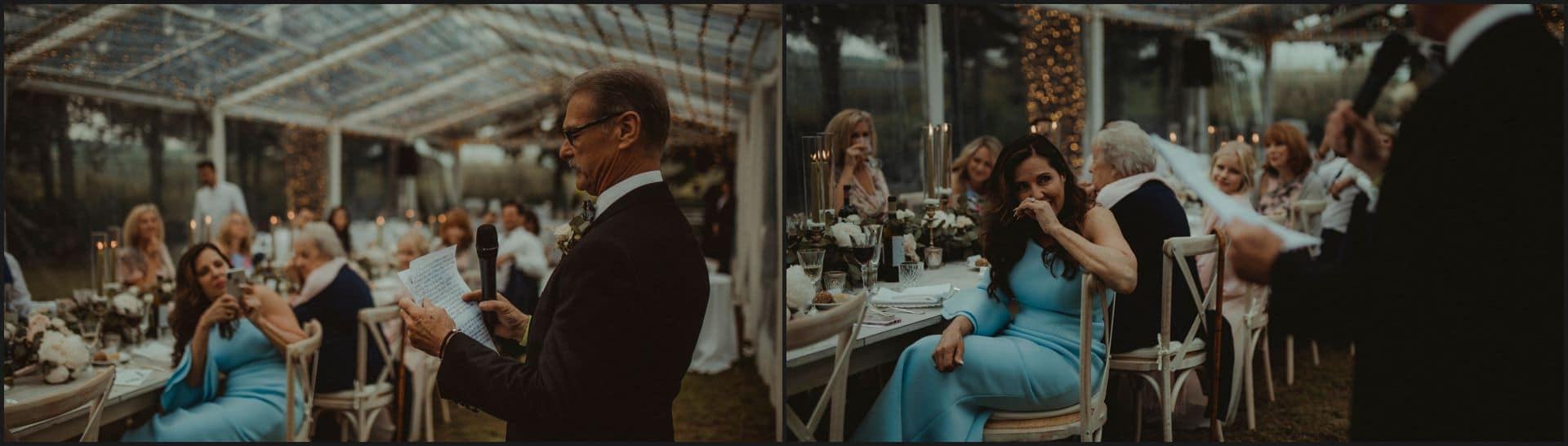 tuscany, destination wedding, chianti, wedding speech
