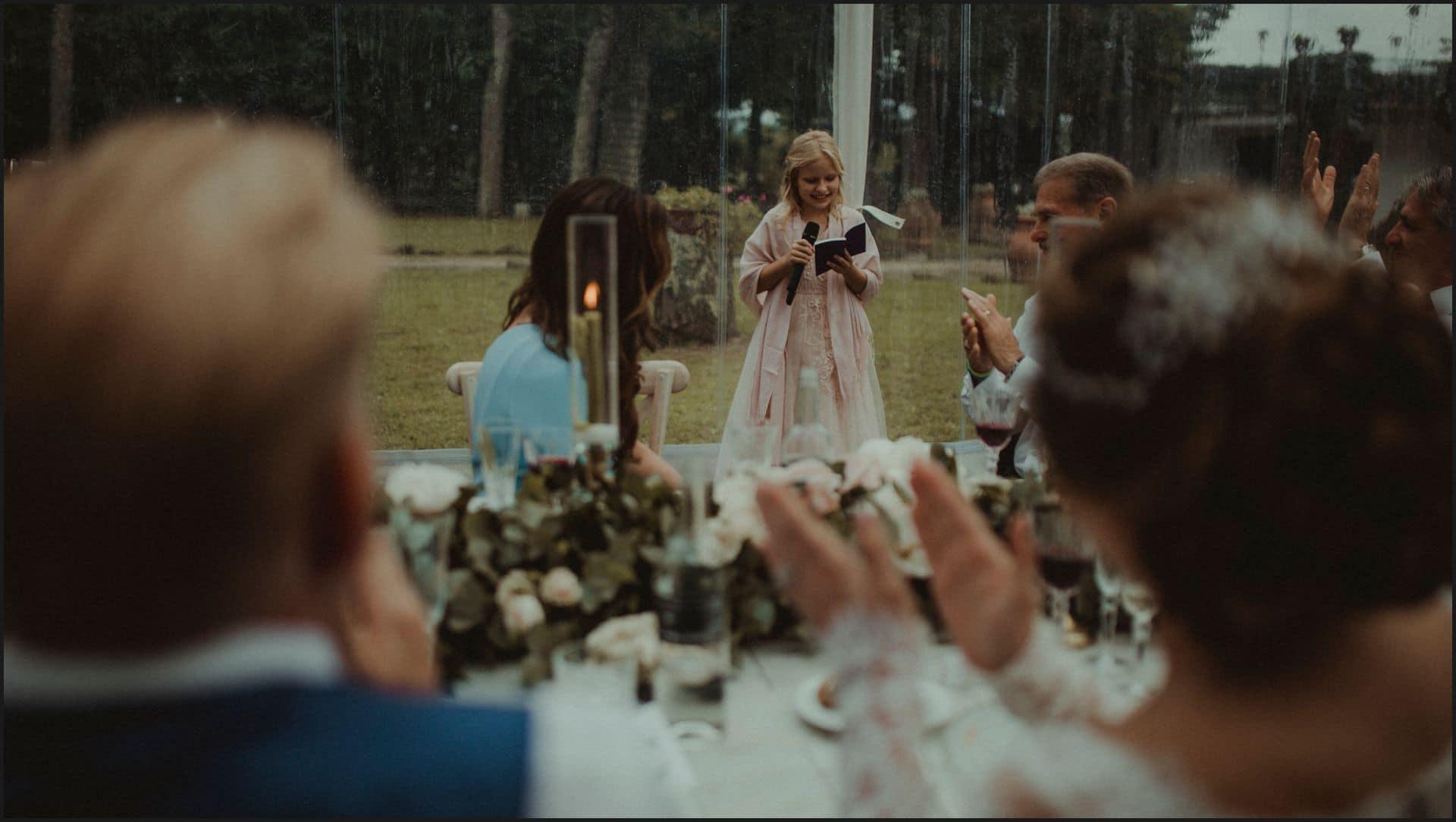 tuscany, destination wedding, chianti, bride, groom, daugther, speech
