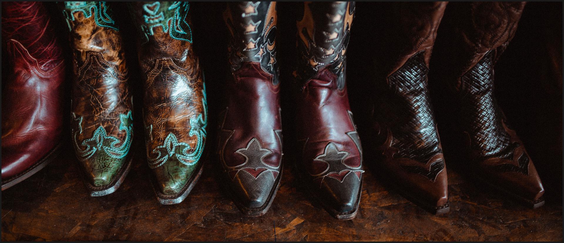 california, road trip, boots