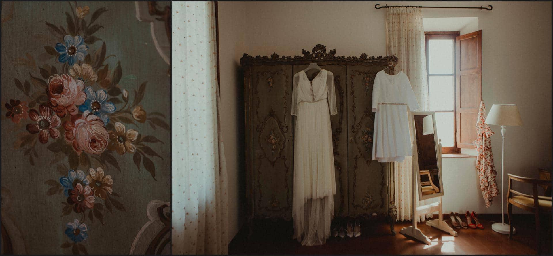 borgo di tragliata, wedding, rome, wedding in rome, bride dress, getting ready