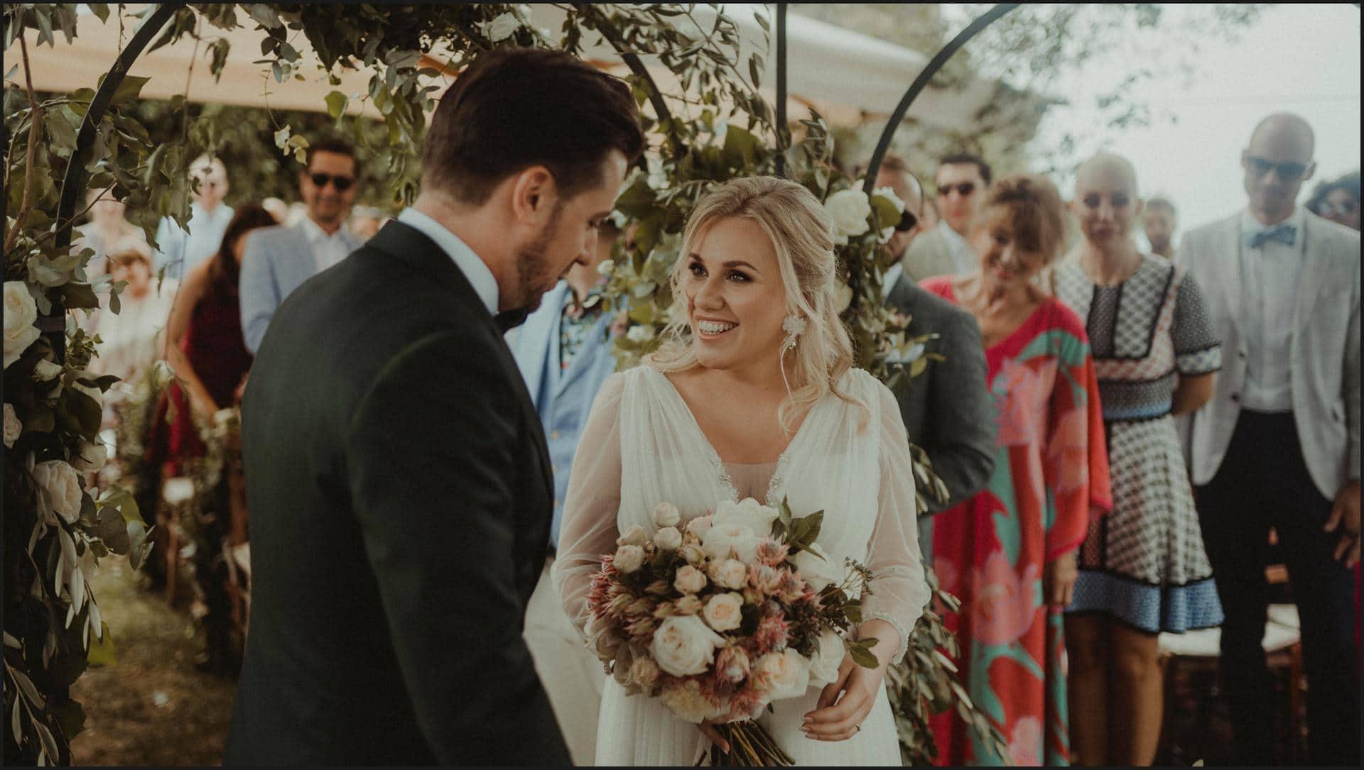 borgo di tragliata, wedding, rome, wedding in rome, ceremony, bride and groom