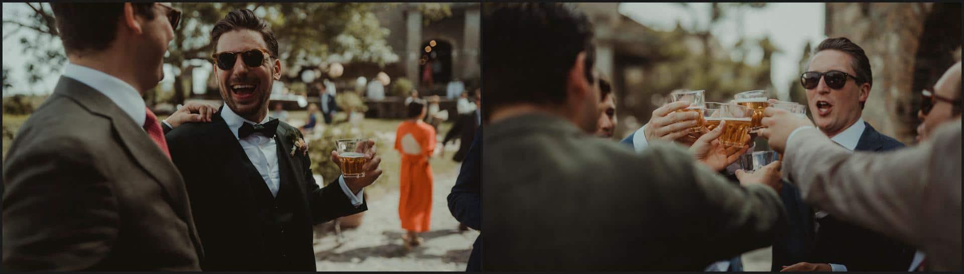 borgo di tragliata, wedding, rome, wedding in rome, wedding toast
