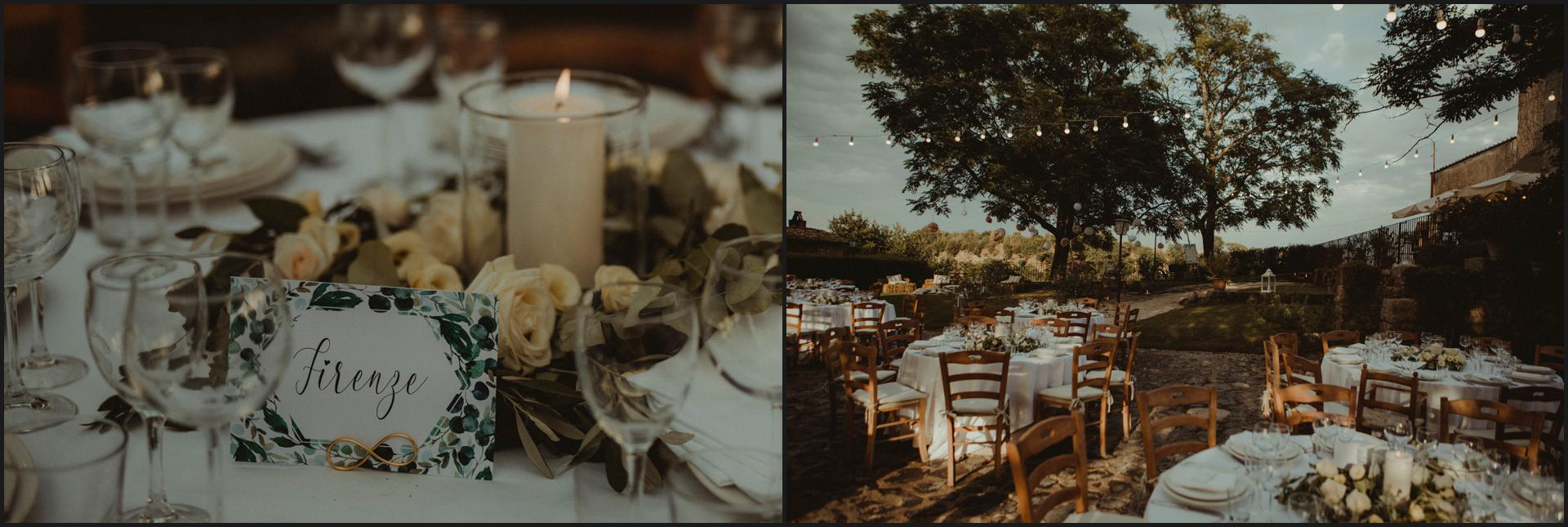 borgo di tragliata, wedding, rome, wedding in rome, dinner table, weding detail, table setting, candles