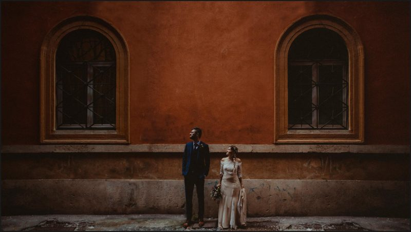 rome, elopement, wedding, bride, groom, portrait